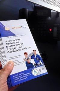 Flyer Ausbildung by Braintop Fortbildung Weiterbildung Ausbildung in Köln