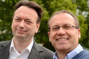 Ernst Graßmann und Frank Weiler. Die Leitung bei Braintop Fortbildung Weiterbildung Ausbildung in Köln