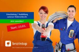 Weiterbildung in Köln für Elektroniker*innen (Elektrotechnik)