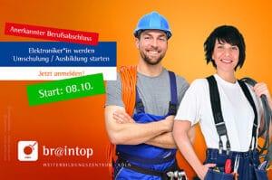 Weiterbildung / Ausbildung in Köln speziell für Elektroniker/innen – Fach Elektrotechnik